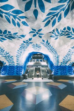 Stockholm Metro Art: The 8 Best Metro Stations - Hand Luggage Only - Travel, Food & Photography Blog
