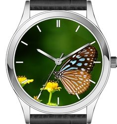 Butterfly watch series - Blue Glassy Tiger butterfly