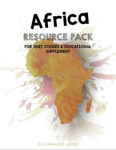 Africa Resource Pack with Anatomy, Life Cycle, Lists & Activities Lion Anatomy, Poster On, Poster Prints, School Levels, Lewis And Clark, Life Cycles, Natural Materials, Watercolor Paper, Africa