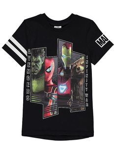 Join the courageous and brave Marvel Avengers team in this bold slogan T-shirt. Marvel Avengers, Marvel Comics, Teen O, Comic Clothes, Disney On Ice, Marvel Shirt, Boys Pajamas, Latest Fashion For Women, Kids Outfits