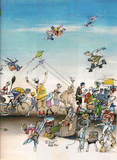 Blanchon - L'Équipe Magazine - 20 Ans de Blachon 6/8 - samedi 22 octobre 2005 - N° 1219