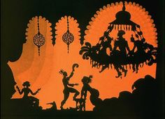 1 shows signs of inspiration from lotte reiniger silhouette animator of the and onward. Shadow Art, Shadow Play, Cut Out Animation, Shadow Theatre, For Elise, Vintage Fairies, Paper Artwork, Shadow Puppets, Russian Art