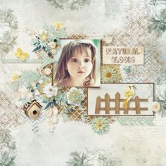 Natural Bloom by Eudora Designs Template by Fiddle-Dee-Dee-Designs Photo Maria Gvedashvili