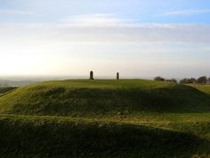 Hill Of Tara, Co. Meath .It contains a number of ancient monuments, and was the seat of the High King of Ireland. Also to be seen is The Lia Fáil (The Stone of Destiny) which was used as a coronation stone by the High Kings.