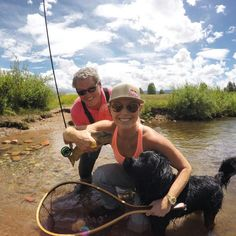 Lindsey Vonn  Fly Fishing  Colorado  July 2015