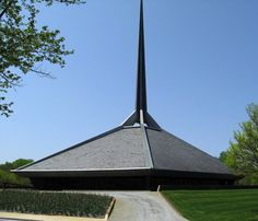Eliel Saarinen's church in Columbus, Indiana.