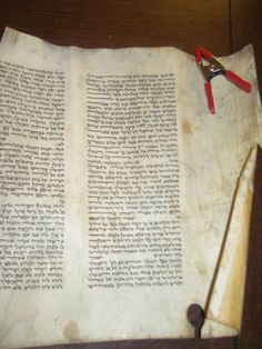 Alter Rebbe Megillah Esther Scroll 150 Years Old Fully Restored