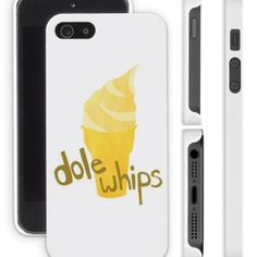 Pineapple Dole Whip Disneyland Disney World Magic Kingdom Apple iPhone 4/4s 5/5s Samsung Galaxy S3 S4 Cell Phone Case Cover from Phone Fluff...