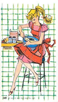 #149 Barbie Jumbo Fashion Trading Card