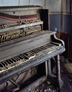 Piano, Saint Albertus School Yves Marchand et Romain Meffre The Ruins Of Detroit