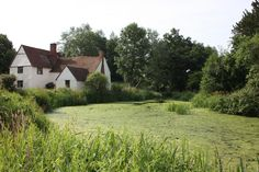 Willy Lotts House at Flatford Mill, Suffolk