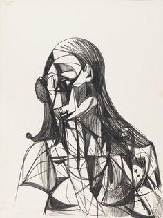 George Condo 'Female Portrait', 2009 © George Condo