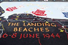 d day landings names of beaches