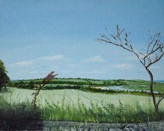 A little view of Clare oil on Board 8 X 10