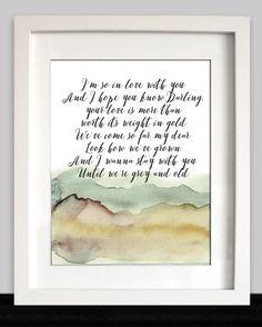 James Arthur Say You Won't Let Go Lyric Art Print by AwakeYourSoul