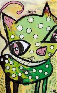 Green Cat: Annette Marnat