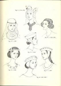 Plantagenet (1154-1399): Head coverings from my period.