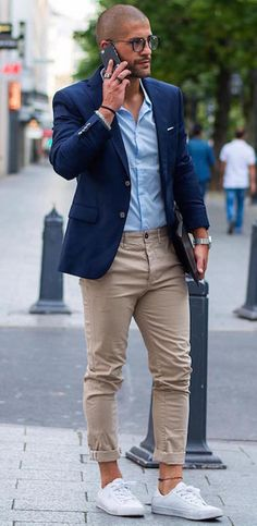 Men's Style Guide: How to Wear Chinos 3 Ways