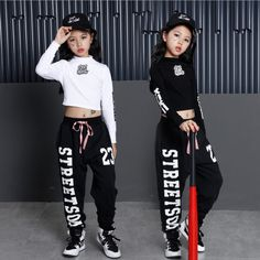 Girl Children Lumbar Jazz Hip Hop Dancewear Kids Dance Costumes Top #fashion #clothing #shoes #accessories #dancewear #kidsdancewear