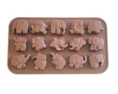 Dancing Elephant Cake & Chocolate Mold- Silicone, need this for Jip & Jan