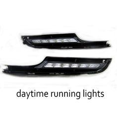 1 set auto lamp DRL Car-styling For V/olkswagen G/olf 7 2014-2015 White LED Daytime Day Fog Light   #Affiliate