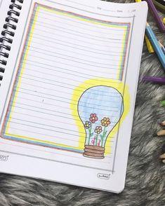 Front Page Design, Page Borders Design, Border Design, Borders Bullet Journal, Chemistry Projects, Mandala Doodle, Simple Borders, Avengers Art, School Notebooks