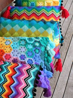 I love adding tassels to my crochet projects, and the best ones are plump and luxurious. Here's the technique I use to make mine... it...
