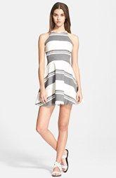 Elizabeth and James 'Magdalena' Stripe Fit & Flare Dress