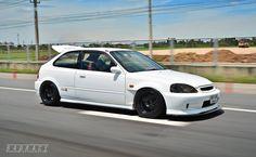 Honda civic type r Honda Civic Hatchback, Civic Jdm, Honda Crx, Honda Civic Type R, Japanese Sports Cars, Japanese Cars, Tuner Cars, Jdm Cars, Modified Cars