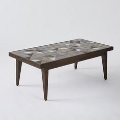 Lubna Chowdhary Tiled Coffee Table - Bronze - Discover home design ideas, furniture, browse photos and plan projects at HG Design Ideas - connecting homeowners with the latest trends in home design & remodeling Tiled Coffee Table, Diy Coffee Table, Modern Furniture, Outdoor Furniture, Home Accessories, Family Room, Interior Design, Interior Ideas, Bronze