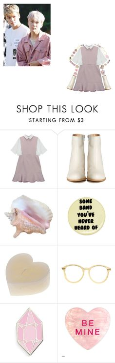"""""""VERY NICE - Seventeen"""" by choiseungcheols ❤ liked on Polyvore featuring MM6 Maison Margiela, American Apparel and Big Bud Press"""