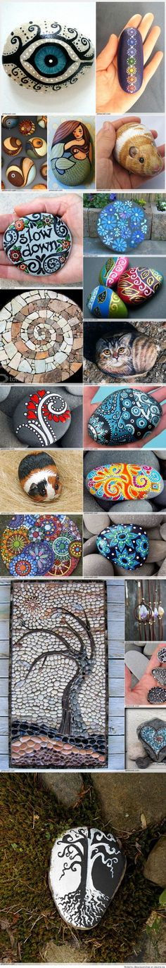 Great Idea for Stone Art (scheduled via http://www.tailwindapp.com?utm_source=pinterest&utm_medium=twpin&utm_content=post148230971&utm_campaign=scheduler_attribution)
