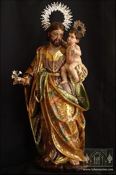 NOTICIAS... PEREZ ROJAS Mother Mary Images, Images Of Mary, Religious Images, Religious Art, St Joseph Catholic, Mary And Jesus, Angel Art, I Icon, Christian Art