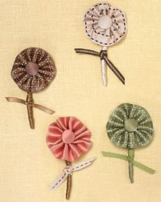 """See the """"Ribbon Flowers"""" in our The Best Boutonnieres gallery"""