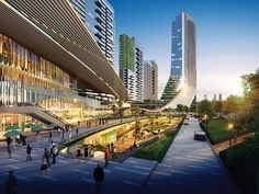 Fuzhou Metro Mixed-use Development - DP Architects CH