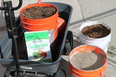 Make your own potting mix - only 4 ingredients.  Better potting mix for less!