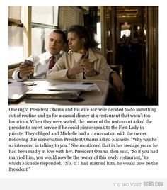 Obama and Michelle