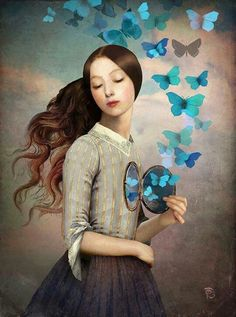 Corazón de mariposa