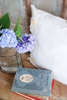 Make a handmade pillow for that special someone for Valentine's Day this year with Ella Claire