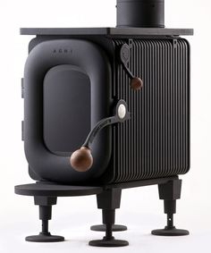 okamoto's AGNI hutte wood stove wins g-mark japan GOOD DESIGN award