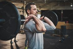 The best use for a barbell is to increase strength + high-intensity interval training (HIIT). Try this ultimate barbell interval workout to get shredded! Workout Splits, Aerobics Workout, Workout Diet, Squat Motivation, Workout Results, Muscle Building Workouts, Planet Fitness Workout, Back Exercises, Barbell Exercises