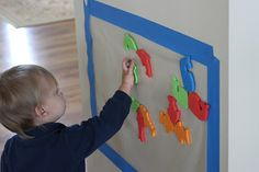 Playing House: Contact Paper Fun