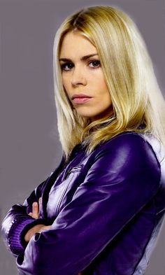 ((Billie Piper)) 'Ello, I'm Rose Tyler. I'm back. I have no idea how I got back here or why... It seems there is something big going on around here. But I'm sticking for sure, I'd like to meet some new people. Back here... It feels like home.