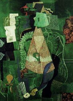 パブロ・ピカソ「若い娘の肖像」