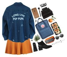 """""""Yoins// Long Live"""" by ritaflagy ❤ liked on Polyvore featuring Fjällräven, ZeroUV, MAC Cosmetics and yoins"""