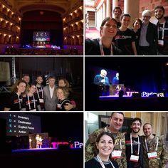 """lymastro🍓 parla di #TEDxPadova su Instagram #TEDxPadova: Ideas worth spreading. Una delle esperienze più belle e """"ispiranti"""" mai fatte. #domaniora #vivipadova #unipd"""