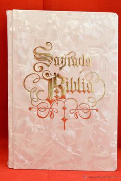 SAGRADA BIBLIA DE BOLSILLO ORTELLS NACARADA ARTICULO NUEVO SIN USO