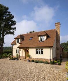 Surrey Pearmain - Border Oak - oak framed houses, oak framed garages and structures.