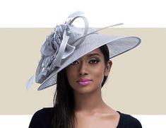 7951e8dee2906 DANIELLA - Silver Pink Fascinator, Derby Day, Kentucky Derby Hats,  Fascinators. Gold Coast Couture