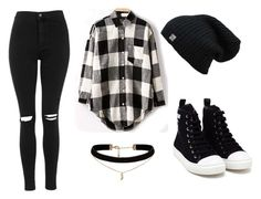 """""""She's So Rad"""" by marsophie ❤ liked on Polyvore featuring Moschino, Topshop, ASOS, women's clothing, women, female, woman, misses and juniors"""